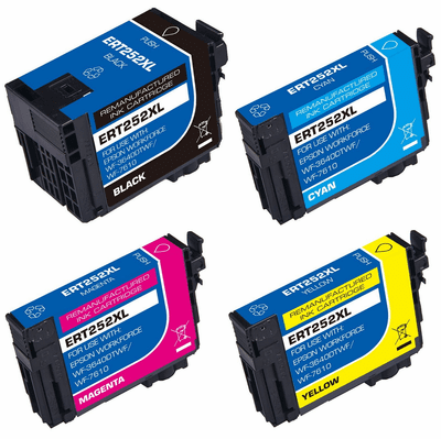 Compatible Ink Cartridges 4 pack Combo