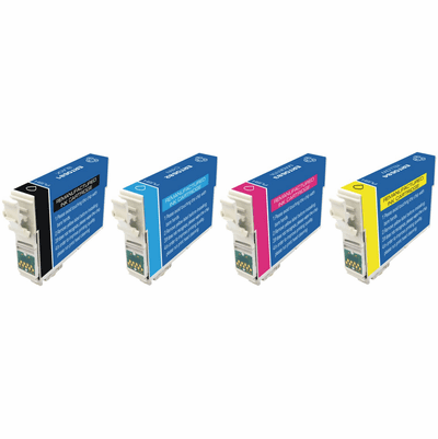 Epson C120 ink cartridges - compatible remanufactured 5 Pack Combo