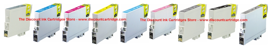 Epson  R2400 Ink Cartridges - Remanufactured Replacements $5.50