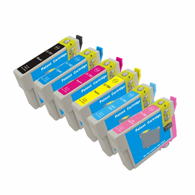 Epson R260 ink cartridges - compatible 6 Pack Combo
