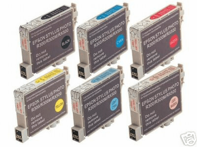 Epson RX500 Ink Cartridges - Remanufactured Replacements $6.15