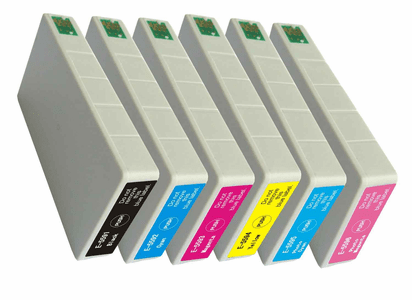 Epson RX700 ink cartridges - compatible 6 Pack Combo