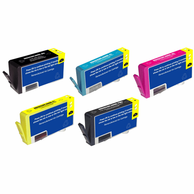HP 564xl ink cartridges - compatible 4 or 5 pack combo