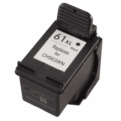 HP 61XL 61 ink cartridge high yield black compatible replacement