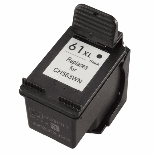 HP 61XL ink cartridge high yield black compatible replacement