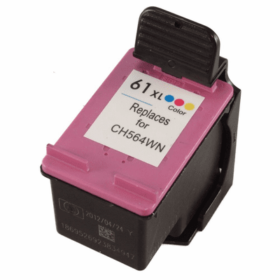 HP 61XL 61 ink cartridge high yield color replacement