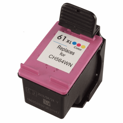 HP 61XL ink cartridge high yield color replacement