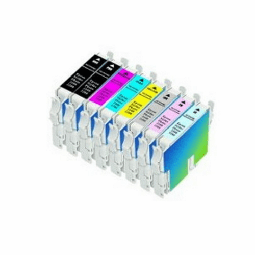 Epson Stylus 2200 ink cartridges compatible brand - Set of 8 colors
