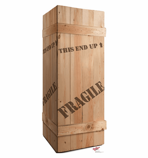 A Christmas Story Fragile Box Cardboard Cutout