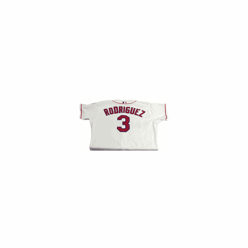 Alex Rodriguez Texas Rangers Rawlings Autographed White Jersey