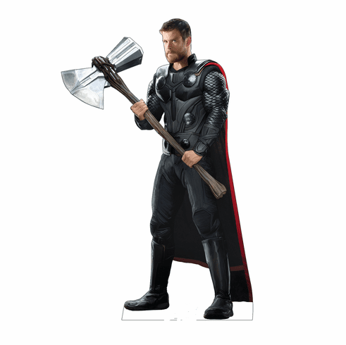 Avengers Thor with Hammer Standee
