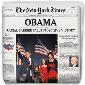 Barack Obama Newspapers
