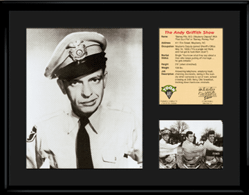 Barney Fife Lithograph
