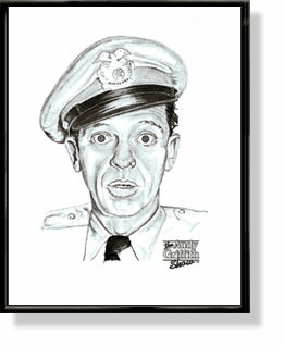Barney Fife Lithographs