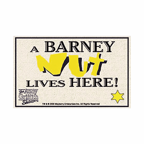 Barney Nut Welcome Mat
