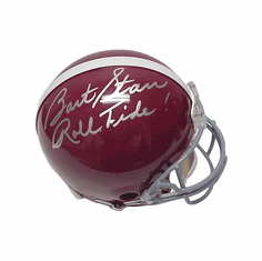 Bart Starr Alabama Autographed Authentic Riddell Full-Sized Helmet