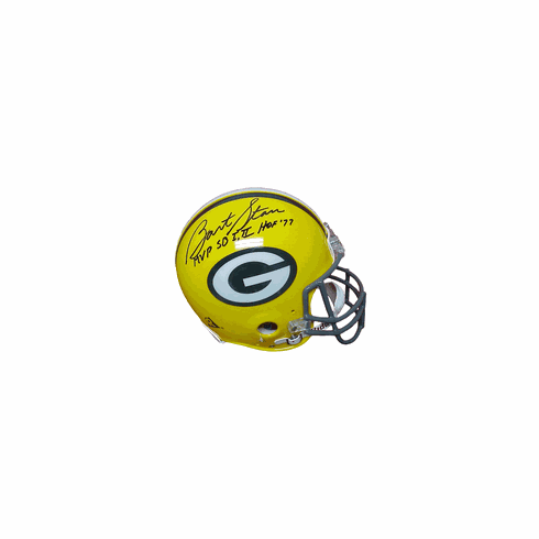 Bart Starr Autographed Authentic Riddell Full-Sized Helmet