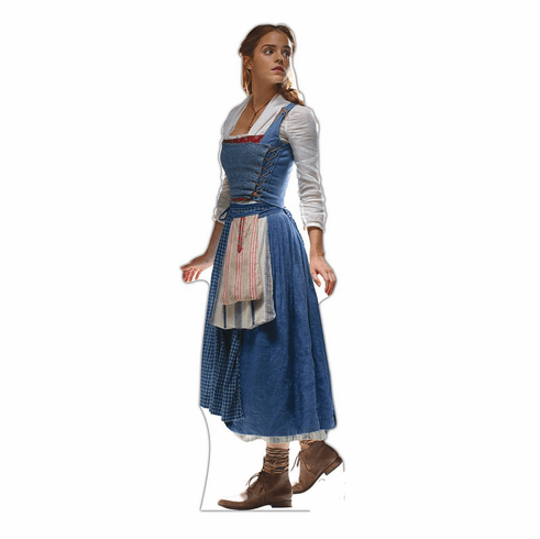 Belle Disney Beauty and the Beast Live Action Cardboard Cutout