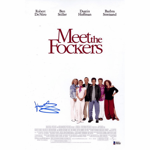 Ben Stiller Signed Meet the Fockers 11x17 Movie Poster Photo Beckett