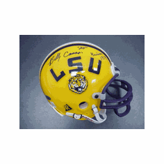 Billy Cannon LSU Autographed Authentic Riddell Mini Replica Helmet