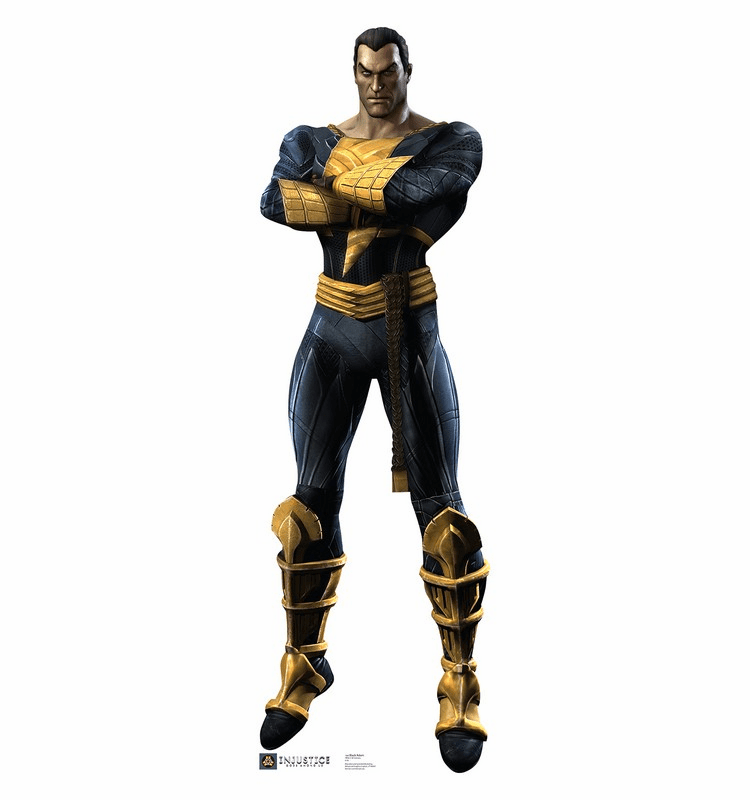 Black Adam Injustice DC Comics Game Standee