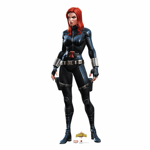 Black Widow Marvel Contest of Champions Game Standee