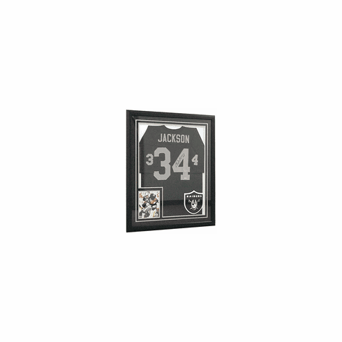 Bo Jackson Authentic Autographed Wilson Jersey (Framed)