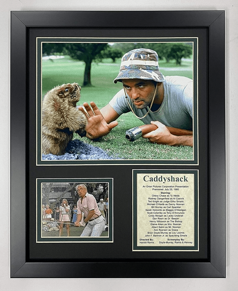 Caddyshack Renowned Comedy Golf Movie Collectible Framed Photo Collage