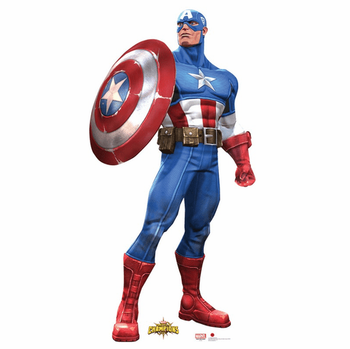 Captain America Marvel Contest of Champions Game Standee