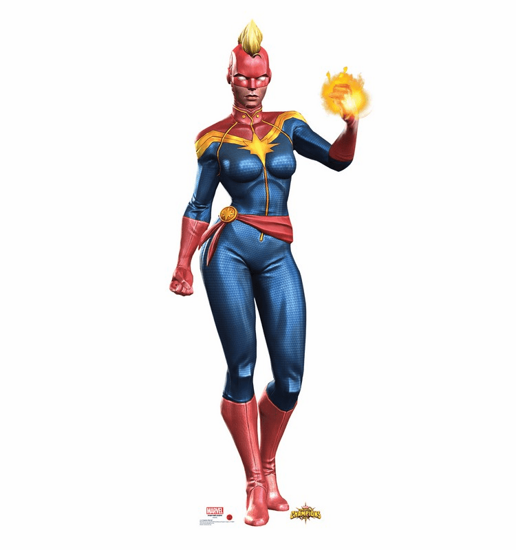 Captain Marvel Contest of Champions Game Standee