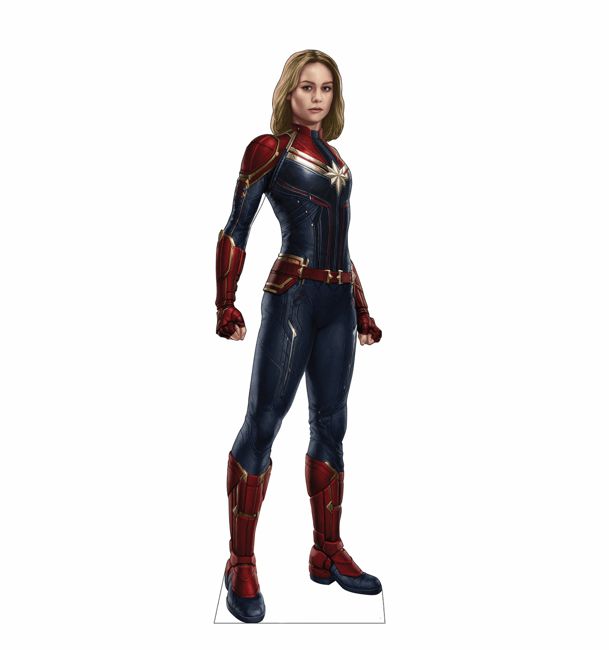 Captain Marvel Standee