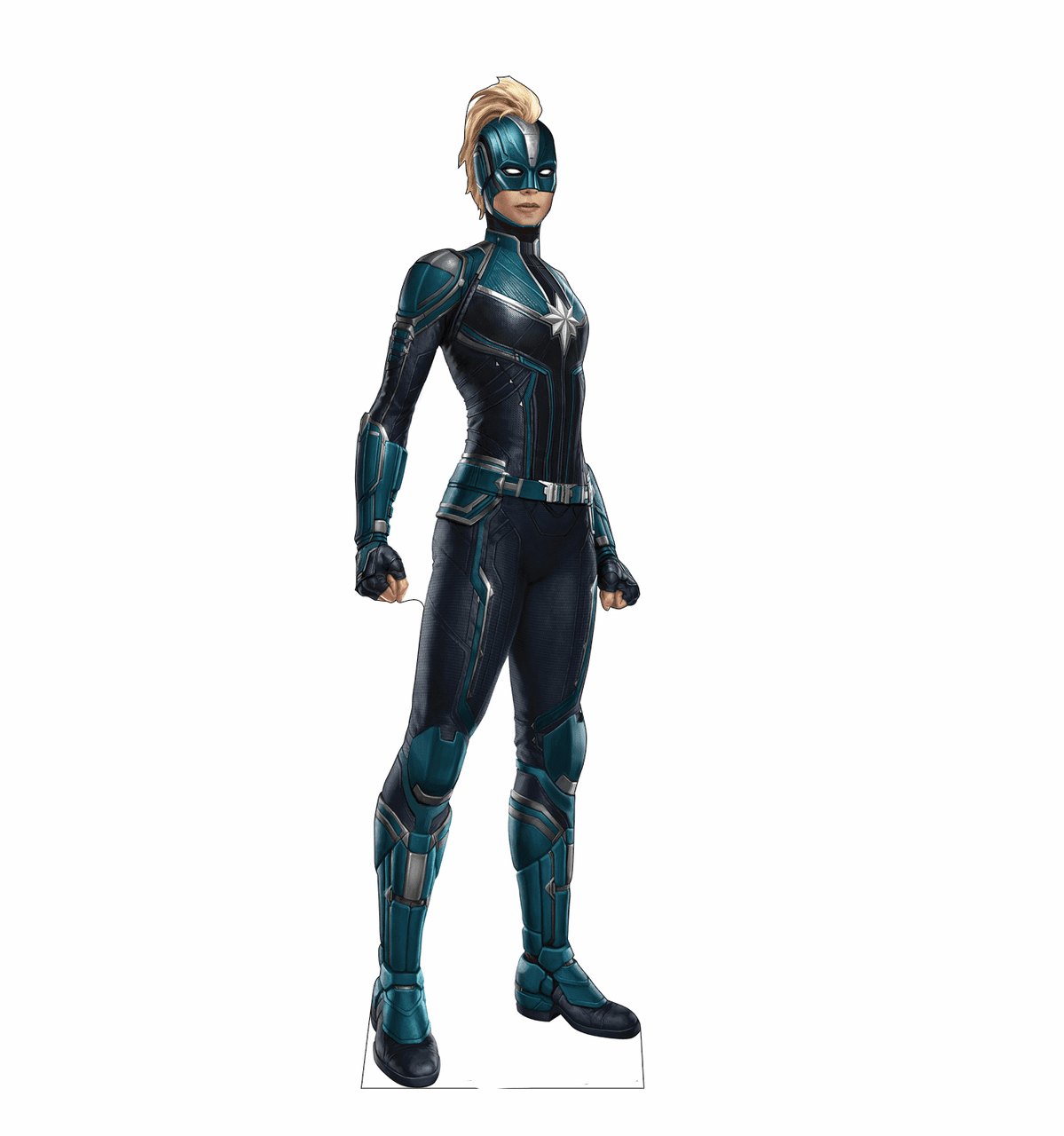 Captain Marvel with Mask Standee