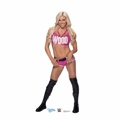 Charlotte Flair WWE Standee