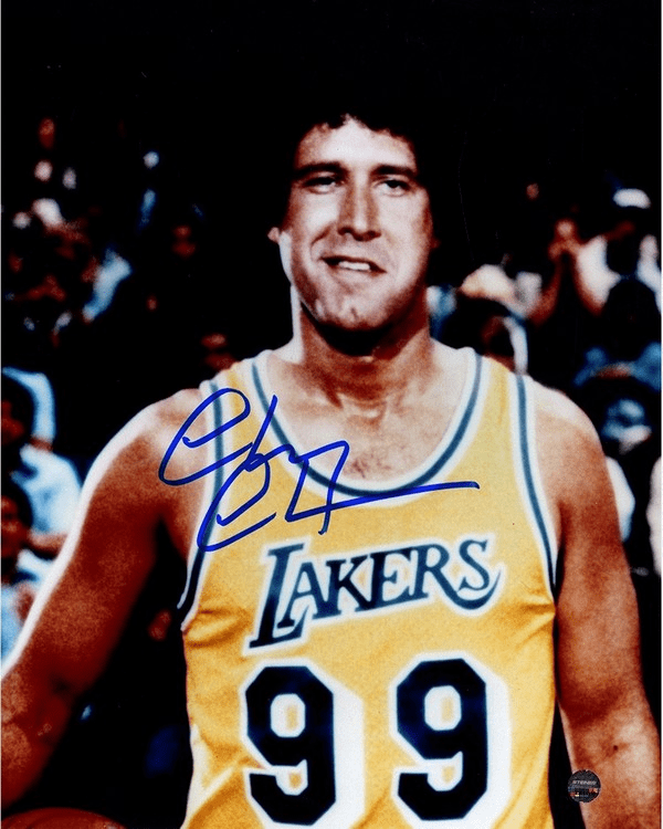 Chevy Chase Signed Fletch Lakers 8x10 Photo