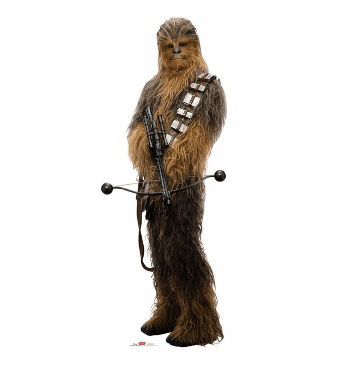 Chewbacca Holding Bow Star Wars VIII The Last Jedi Standee