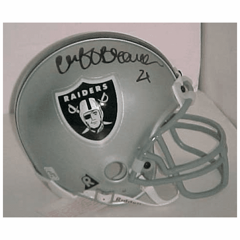 Cliff Branch Oakland Raiders Authentic Autographed Mini Helmet