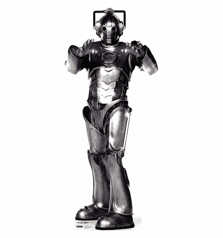 Cyberman Doctor Who Standee