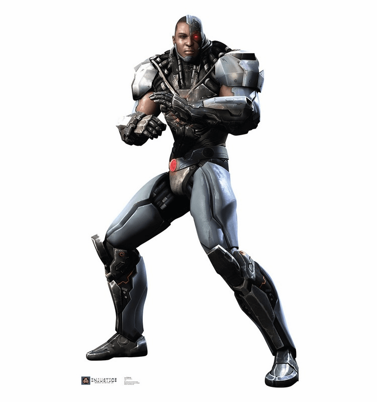 Cyborg Injustice DC Comics Game Standee