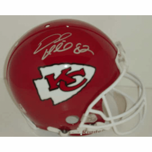 Dante Hall Kansas City Chiefs Authentic Autographed NFL Helmet