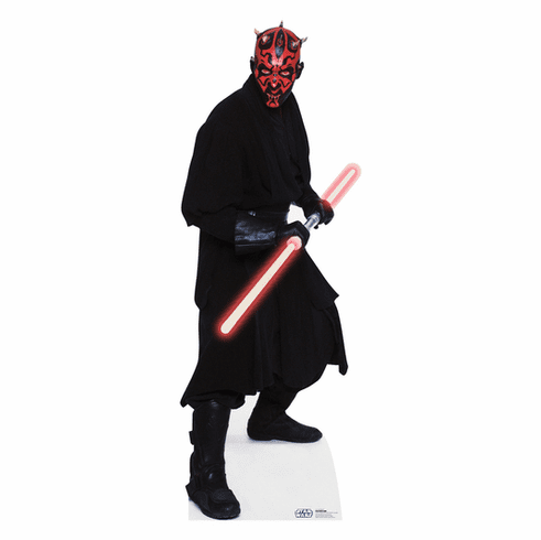 Darth Maul Star Wars Standee