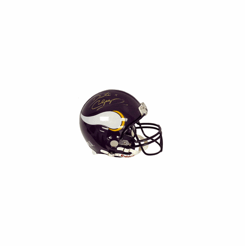 Daunte Culpepper Autographed Authentic Riddell Full-Sized Helmet