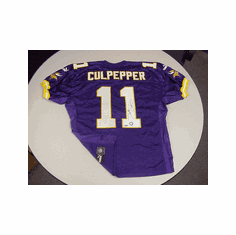 Daunte Culpepper Minnesota Vikings Authentic Autographed Jersey