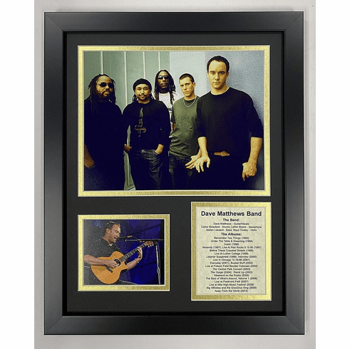 Dave Matthews Band Collectible Framed Photo Collage
