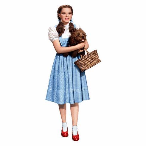 Dorothy and Toto Cardboard Cutout