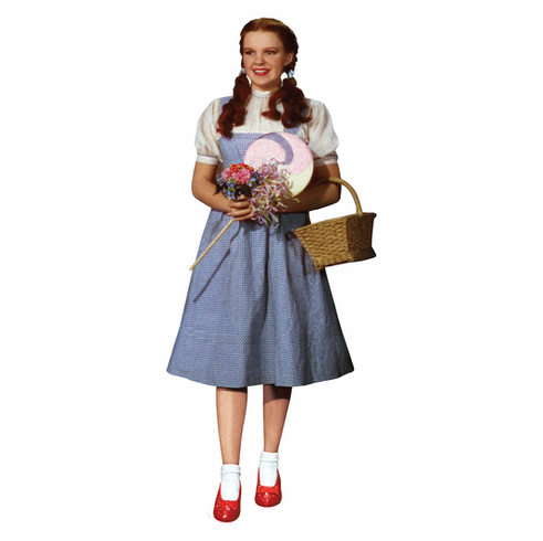 Dorothy Wizard of Oz 75th Anniversary Cardboard Cutout