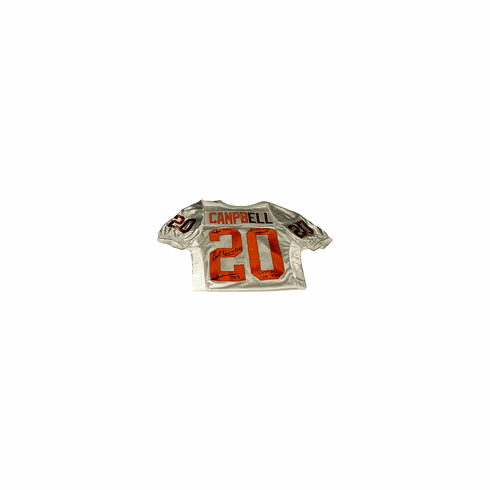 Earl Campbell Texas Longhorns Authentic Autographed Custom Jersey