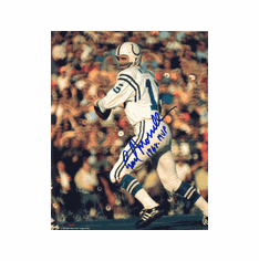 Earl Morrall Indianapolis Colts Autographed Pro Look 8x10 Photo