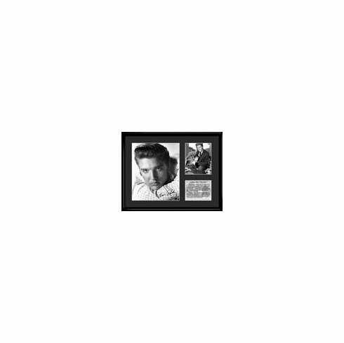 Elvis Presley Picture Love Me Tender Lithograph