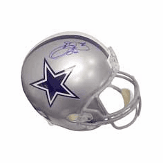 Emmitt Smith Autographed Authentic Riddell Full-Sized Replica Helmet