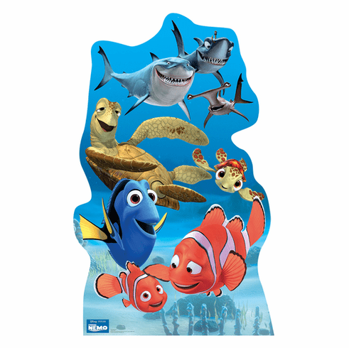 Finding Nemo Group Cardboard Cutout